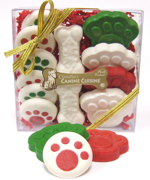 Holiday Specialty Cookies for Dogs