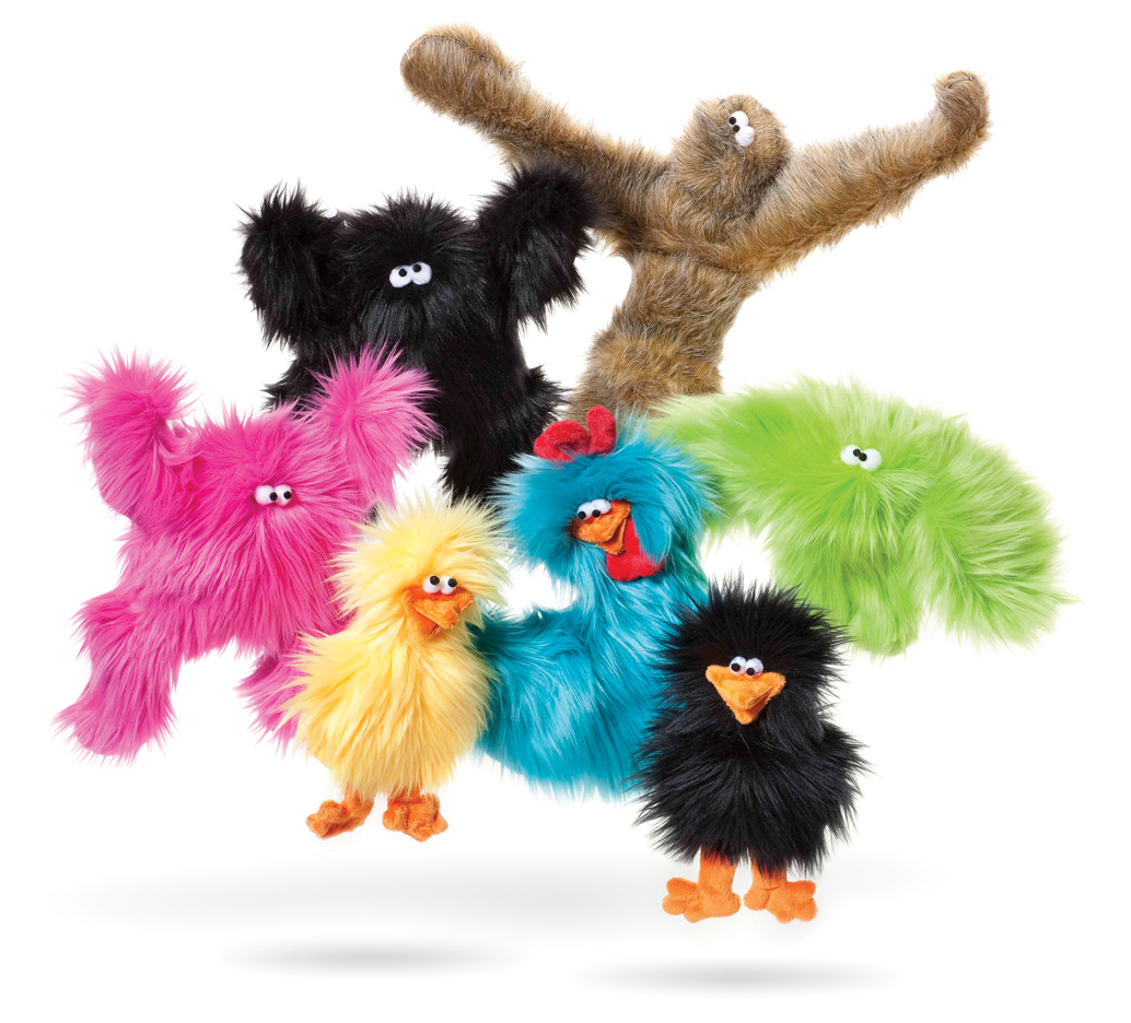 Squeaky Toys: Plush and Fluffy