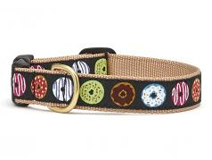 "Dog Collars: 5/8"" or 1"" Wide Donuts Collar"