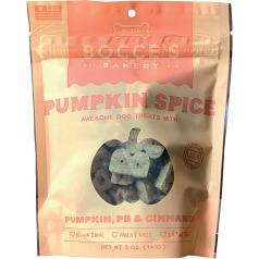 Treats: Bocce's Pumpkin Spice: Crunchy 4 Ingredient Dog Treat