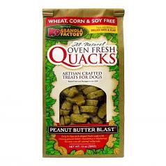 Treats: Quacks Peanut Butter Blast