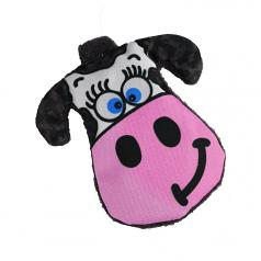 Dog Toy: Moo-ria Crinkle Cordura Dog Toy (no Squeaker)