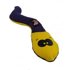 Dog Toy: Wiggle Worm Cordura Squeaker Dog Toy