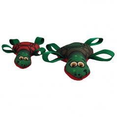 Dog Toy: Tommy Turtle Cordura Squeaker Dog Toy