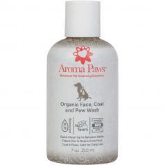 Spa:  Aroma Paws Organic Face, Coat & Paw Wash