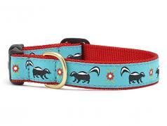 """Dog Collars: 5/8"""" or 1"""" Wide Skunky"""