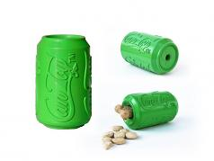 Dog Toy:  Soda Pup Can Chew Toy Available in 4 Sizes
