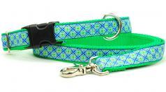 "Dog Collars: 1"" Wide Lucky Clover Collar"
