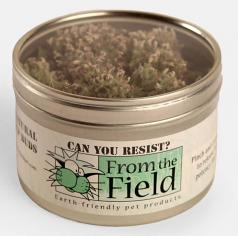 Cat Toy:  Can You Resist, All Natural Catnip Buds, .4 oz Tin