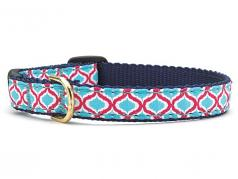Up Country Cat Collar: Blue Kismet