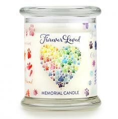Sympathy:  Forever Loved Sympathy Candle