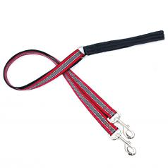 4-Configuration Freedom Training Leash: Matches Reflective Red Harness