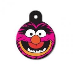 Engraved ID Tag:  Large Round Muppets Animal