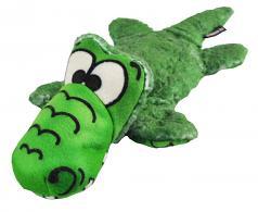 Dog Toy: Allie Gator Plush Crinkle Dog Toy