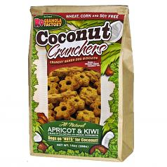 Treats: K-9 Granola Apricot & Kiwi Crunchers 14 oz Bag