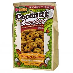 Treats: K-9 Granola Tropical Banana Crunchers 14 oz Bag