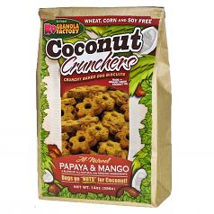 Treats: K-9 Granola Papaya & Mango Crunchers 14 oz Bag