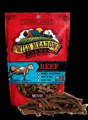 Treats: Minis Classic Jerky Beef