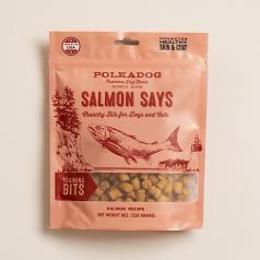 Treats:  PolkaDog Salmon Says Training Treats
