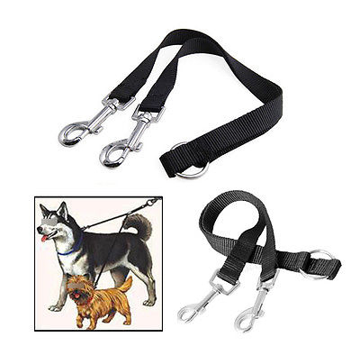 Coupler:  Walk 2 Dogs with 1 Leash