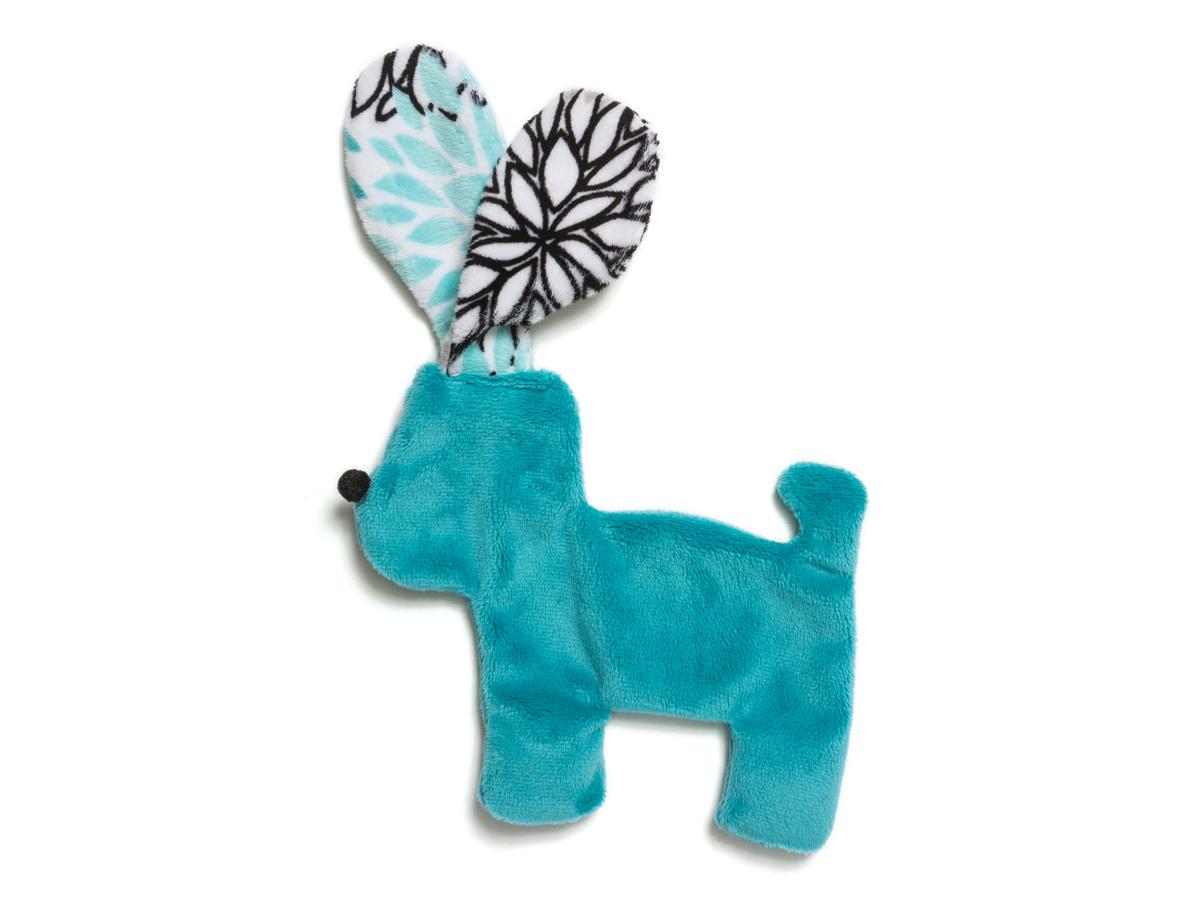 Dog Toy: Floppy Dog Unstuffed Squeaker Toy