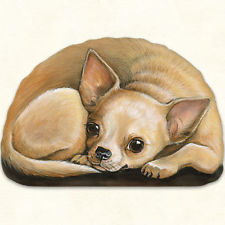Pupper Weight Chihauhau: Soft Weighted Fabric Beanie