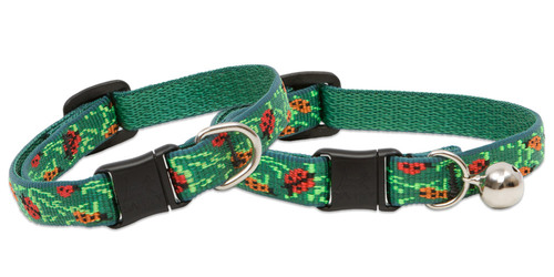 Lupine Cat Collar: Pattern Beetlemania with or without a bell