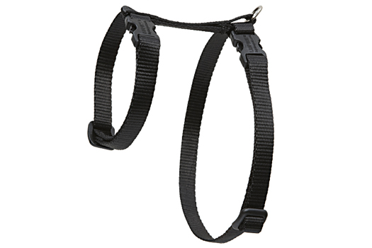 Lupine Cat Harness: Solid Black