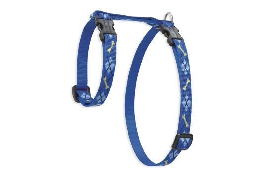 Lupine Cat Harness: Pattern Dapper Dog
