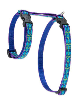 Lupine Cat Harness: Pattern Rain Song