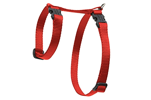 Lupine Cat Harness: Solid Red