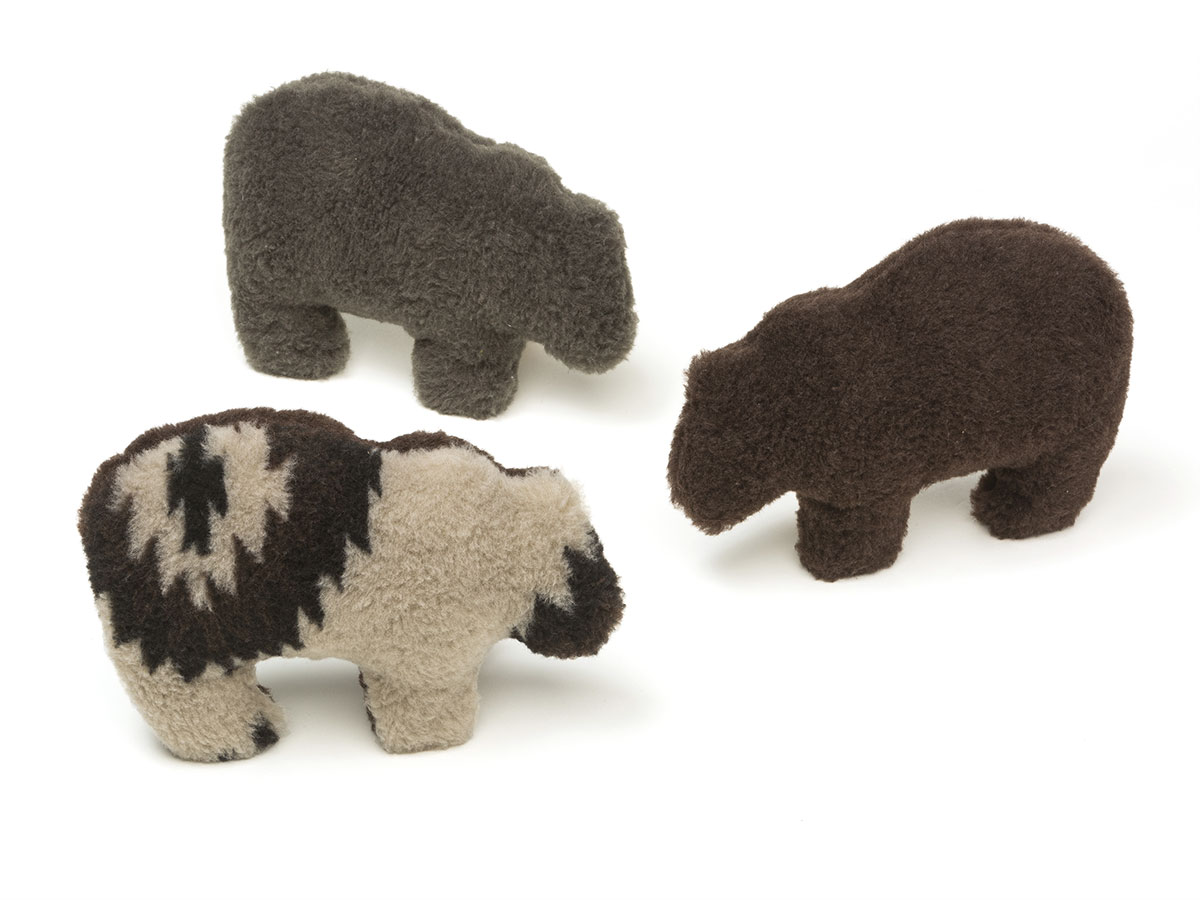 Dog Toy: Gallatin Grizzly Available in Three Colors