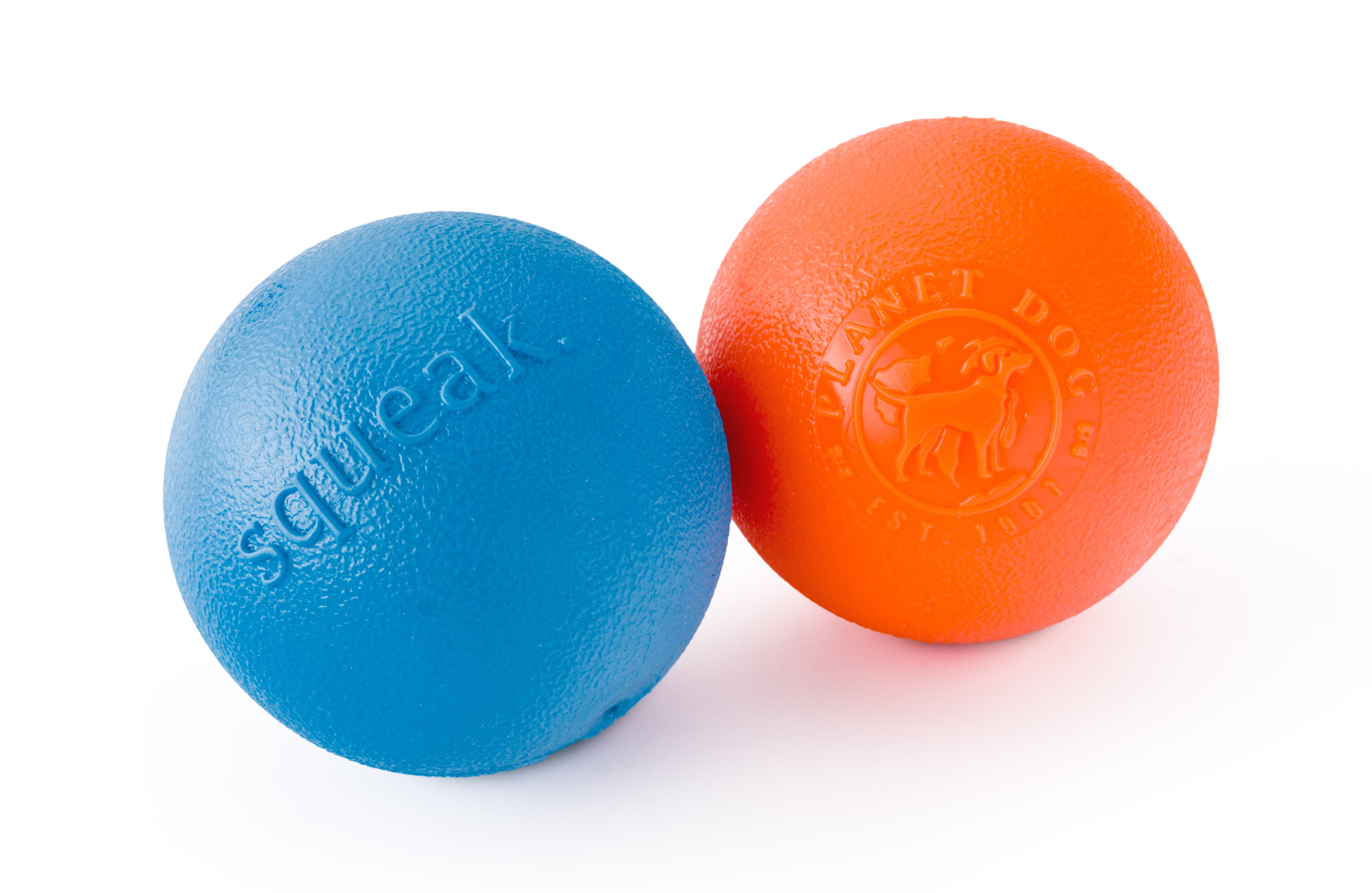 Dog Toy: Squeak Ball Dog Toy by Planet Dog
