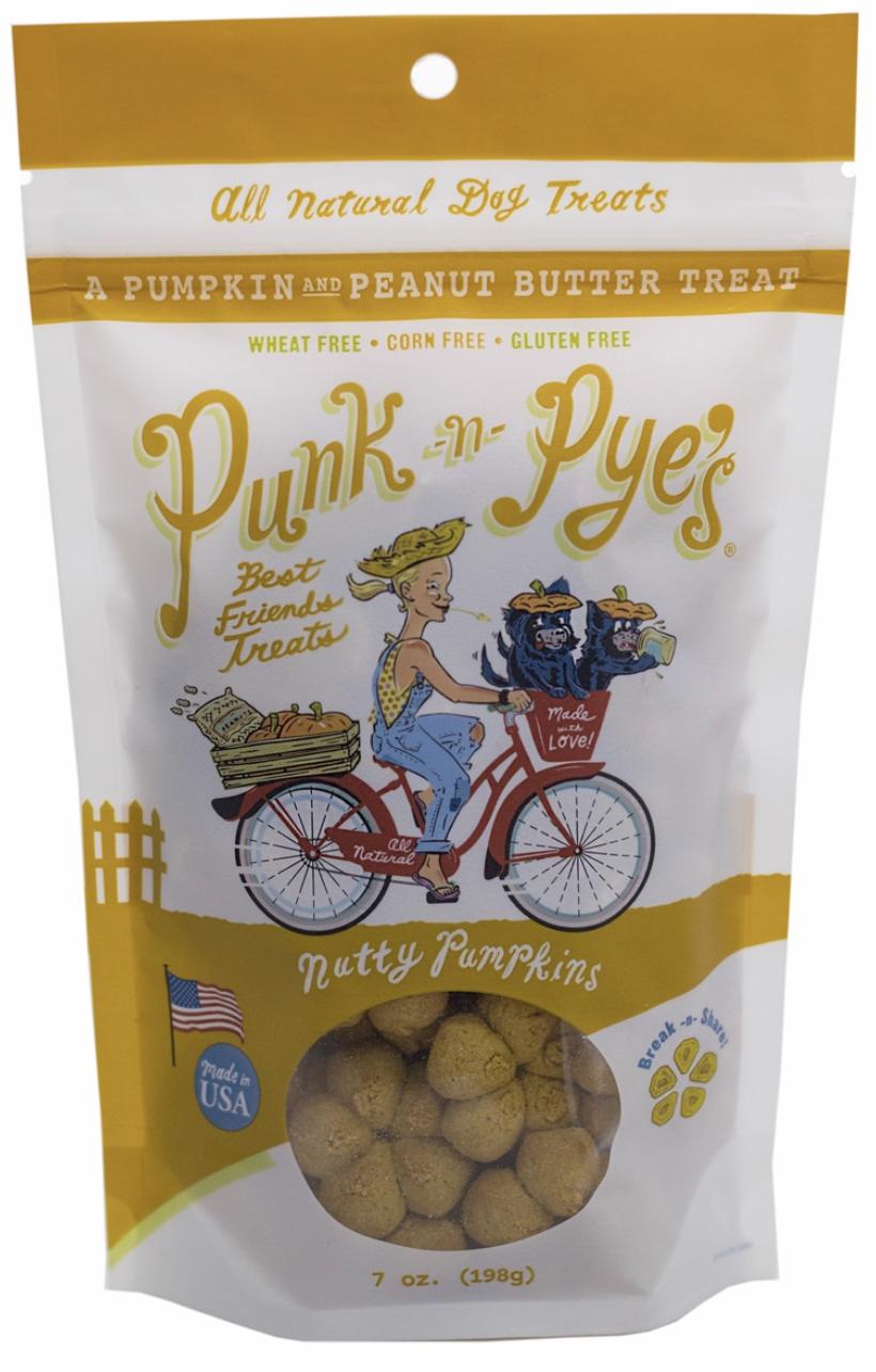 Dog Treat- Punk-n-Pyes Nutty Pumpkins