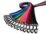 "Lead/Leash: 5/8"" Wide Traditional Nylon Webbing 6' or 4' Long"