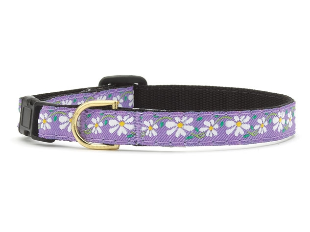 Up Country Cat Collar: Daisys