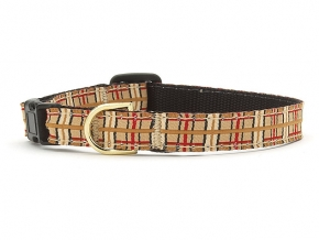 Up Country Cat Collar: Classic Up Country Plaid