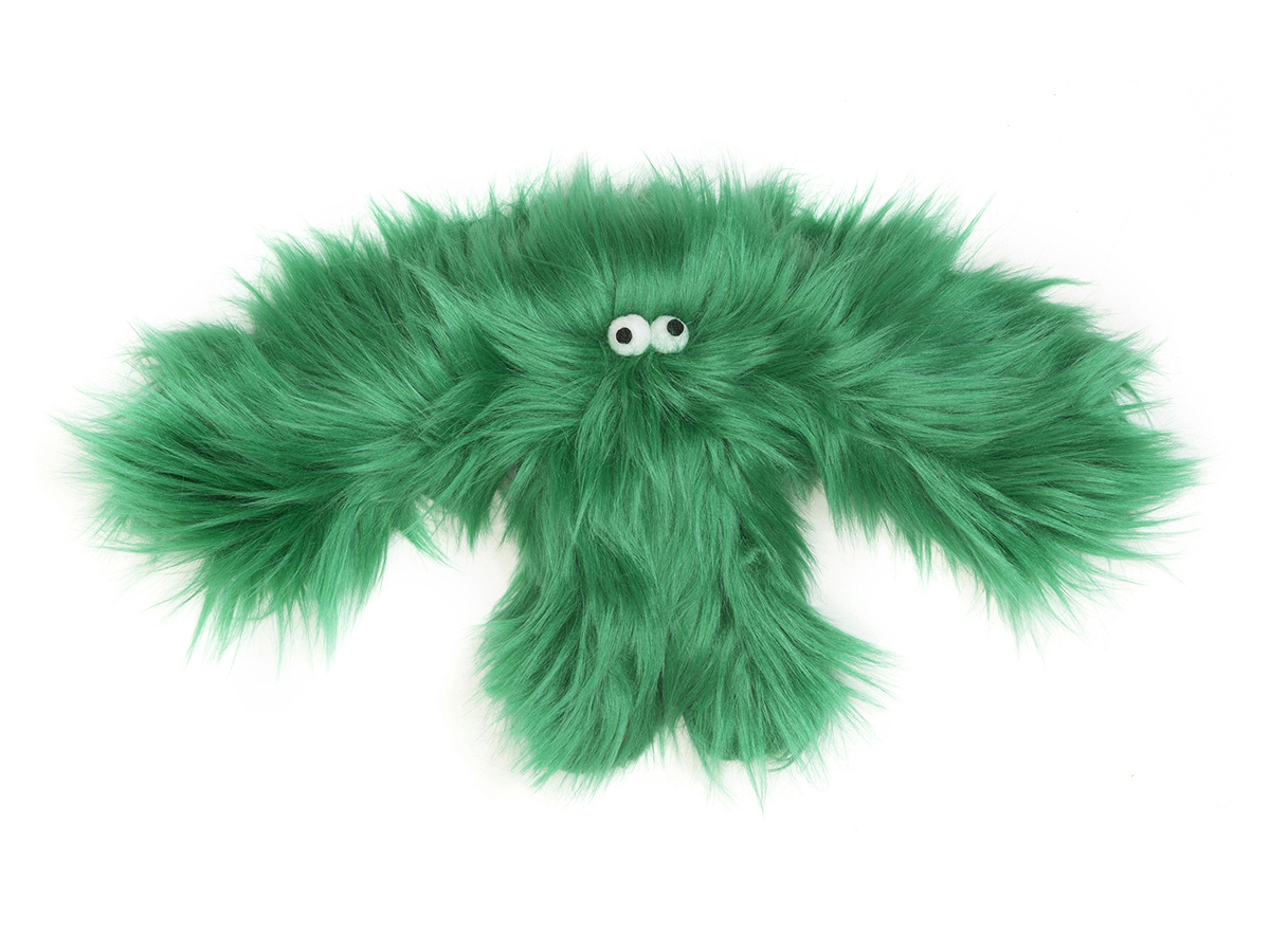 Dog Toy: Salsa Monster Green Available in 2 Sizes