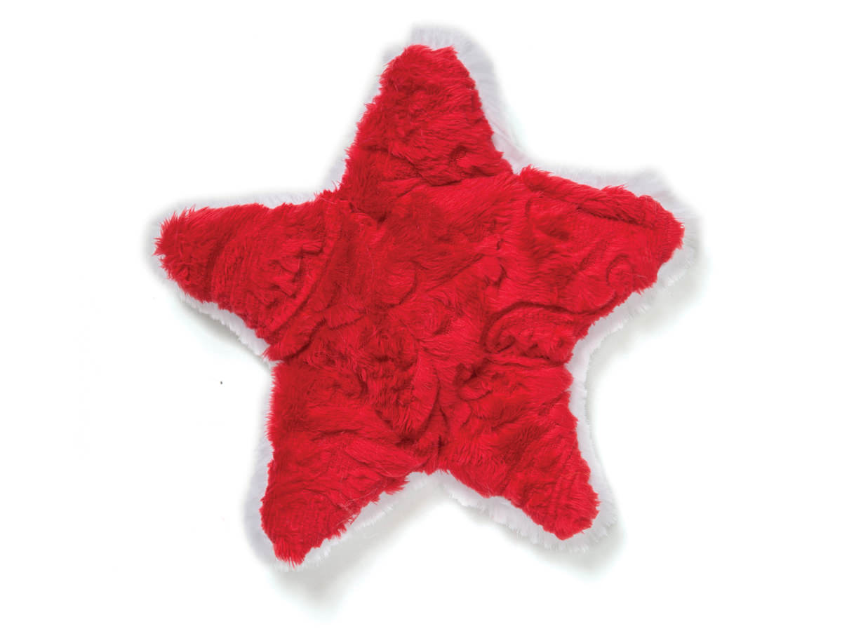 Dog Toy: Star Holiday Dog Squeaker Toy for Small Dogs