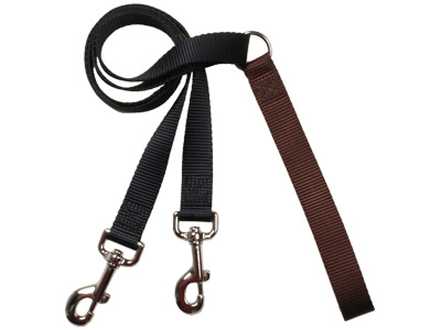 4-Configuration Freedom Training Leash: Matches Brown Harness