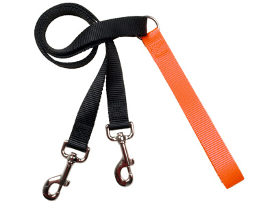 4-Configuration Freedom Training Leash: Matches Rust/Pumpkin Har