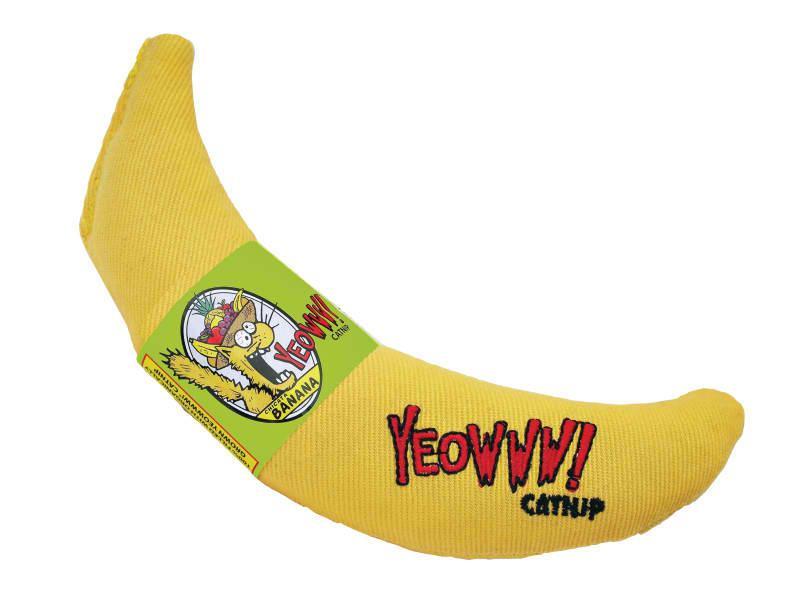 Cat Toy:  YEOWWWWW Banana Organic Catnip Toy