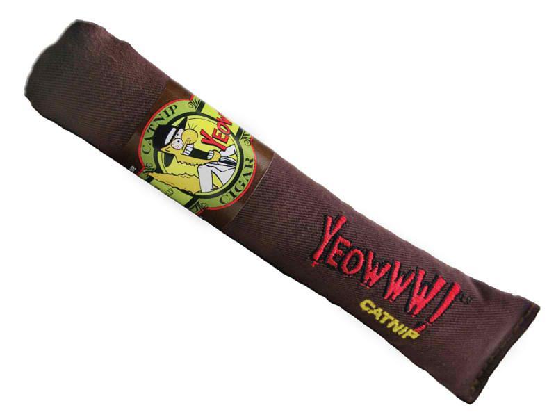 Cat Toy: Cigar YEOWWWWW Organic Catnip Toy