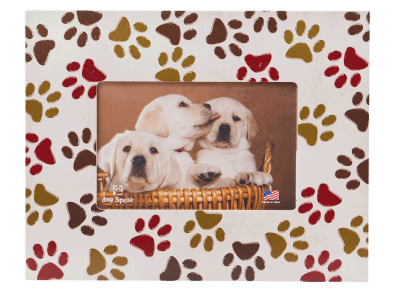 Gifts: Picture Frame All Over Paw Prints