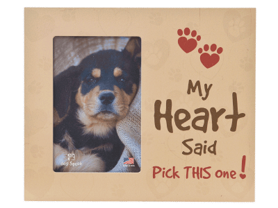 """Gifts: Picture Frame """"My Heart Said Pick This One!"""""""