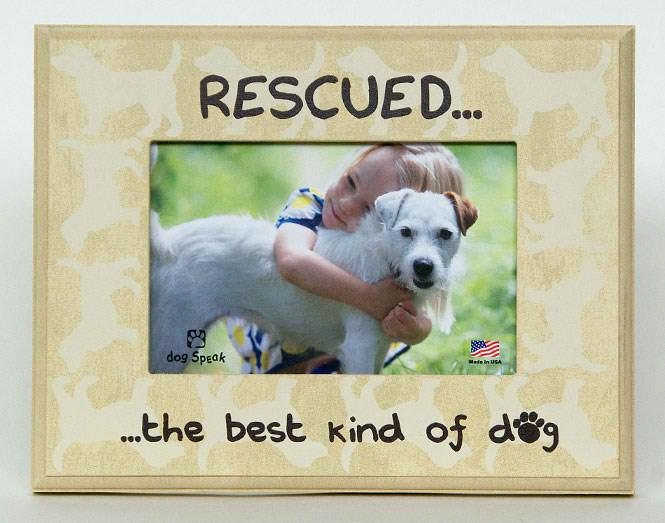 Gifts:  Picture Frame Rescued the Best Kind of Dog