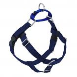 NAVY Freedom No-Pull Harness with Royal Blue Back Loop
