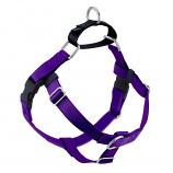 PURPLE Freedom No-Pull Harness with Black Back Loop