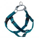 TEAL Freedom No-Pull Harness with Silver Back Loop