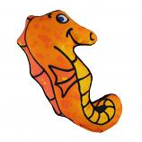 Dog Toy: Sully the Seahorse Cordura Squeaker Dog Toy
